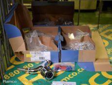 3x Armitage Shanks S7112AA Chrome Tap sets