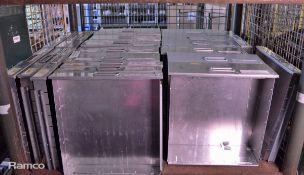 Aluminium Drawers - W 410mm x D 440mm - various heights