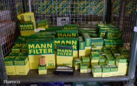 Mann Oil & Air filters - see pictures for model / type