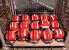 15x Msa F2 X-Trem Safety Helmets