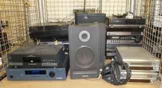 Various Hi-Fi Systems, Soundlab Vinyl Deck & Speakers - Toshiba, Aiwa & Denon