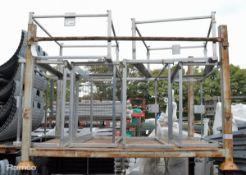 6x Karcher Stainless Steel Frames
