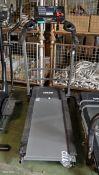 Viavito LunaRun fold up treadmill - missing casing at end