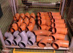 Various PVC 110mm Bend Pipe Units