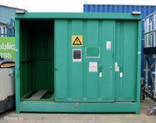 Hazardous Material Container W3000 x D1500 x H2420mm