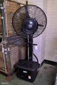 Profen Mobile Free standing Misting Fan Machine 230v