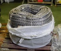 Marlow HMPE Rope 28mm x 220M - Grey