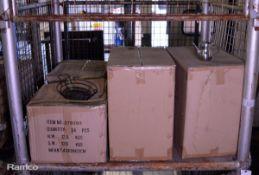 72x Metal Food Baskets, 96x Stainless Steel Coffee Pots 12oz