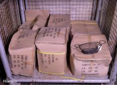 144x Metal Wire Food Baskets