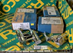 4x Armitage Shanks B8267AA Avon 21 Chrome Tap sets