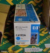 HP Color Laserjet C4192A Printer Cartridge - Cyan