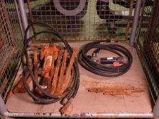 Stanley Br67 Hydraulic Breaker & Accessories, Stanley CH-15 Hydraulic Chipping Hammer & Acc.