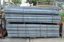 35x 8' x 4' Ex-MOD Ammo cage sections