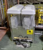 Polar Double Chilled Drinks Dispenser 230v