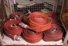 7x Reels of layflat hose - Male & Female Connectors