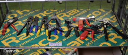 Wire Crimping & Stripper Tools