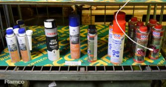 Various Vehicle Sprays/Cleaners - Liqui Moly, Noamfest, Simoniz - Please see pictures for