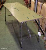 Folding Legged Table L 1500mm x W 600mm x H 730mm