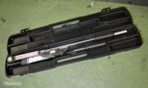 Norbar 4R industrial heavy duty torque wrench in case