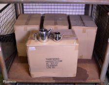 144x Arabian Coffee Pots - 12oz & 24x Universe Coffee Pots - 32oz