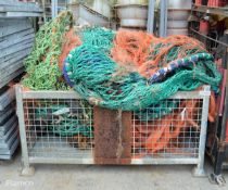 Various fishing nets