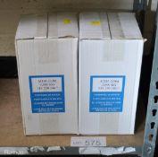 2x Weber Hydraulik Type ATD5-220M Bottle Jacks - S.W.L 5000kg