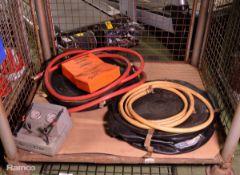 Weber Hydraulik Lifting Bag assembly - control panels, hoses, bags