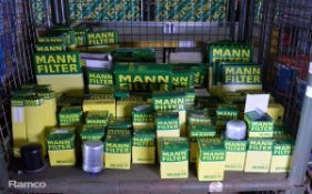 Mann Fuel & Air filters - see pictures for model / type
