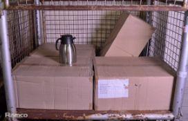 48x Transworld Stainless Steel Unbreakable Vacuum Bottles