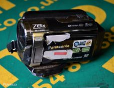 Panasonic SD / HDD Hybrid Camcorder - as spares or repairs