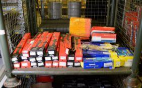 Vehicle parts - Drivemaster shock absorbers, MOOG shock absorbers, Unipart brake drums - s