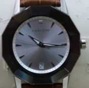 Century Time Gem 77208 Swiss Ladies water resistant (100m) Watch - Sapphire