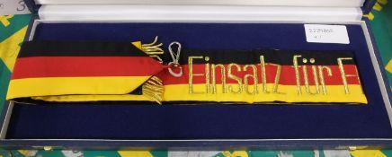 Federal Republic Of Germany 1992 Sash & Presentation Case