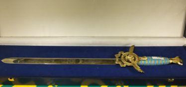 Indian Air Force Platinum Jubilee Ceremonial Sword
