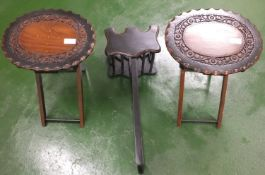 Decorative Wooden Side Tables & Rack