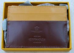 Ettinger (London) Havana Bridle Hide Leather Flat Card Case - BH 248AJ