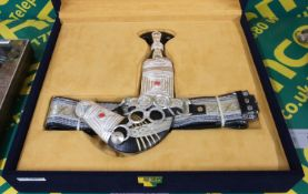 Saudi Ceremonial Dagger & Belt