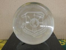 Af Sustainment Center Glass Globe