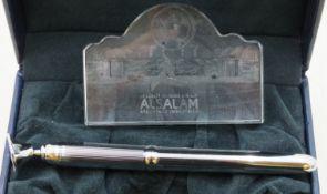 Alsalam Aerospace Industries Desk Pen Set