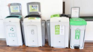 4 x Recycling/food waste bins