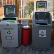 2 x Food waste and disposal bins