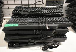 10 x Various computer keyboards