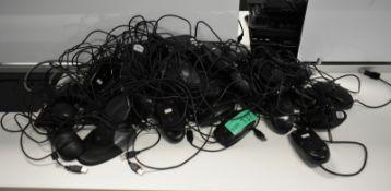 Logitech/Lenovo computer mouses, unknown quantity