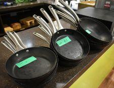 19 x various frying pans