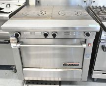 Garland NST45RE bullet top oven, L 1050mm x W 930mm x H 920mm