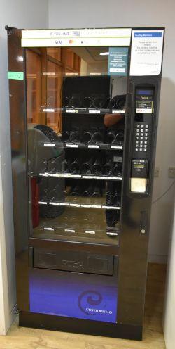 Stentorfield vending machine, model 458E, L 720mm x W 820mm x H 1850mm