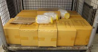 Save n Serve Pro bottles 1/2 gallon yellow - 6 per box - 11 boxes