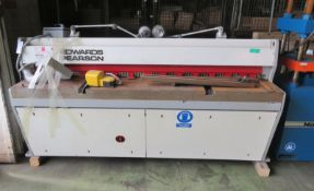 Edwards Pearson Metal Guillotine Machine - L 2500mm x D 1800mm x H 1400mm
