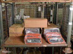 Rieber Gastronorm Container & Lids Sets 9 Per Box - 4 boxes