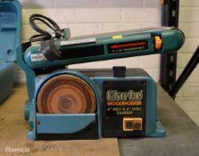 Clarke Woodworker 4 inch Belt + 6 inch Disk Sander